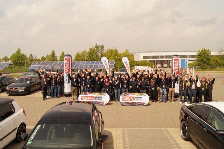 Teilnehmer der Track and Safety Days