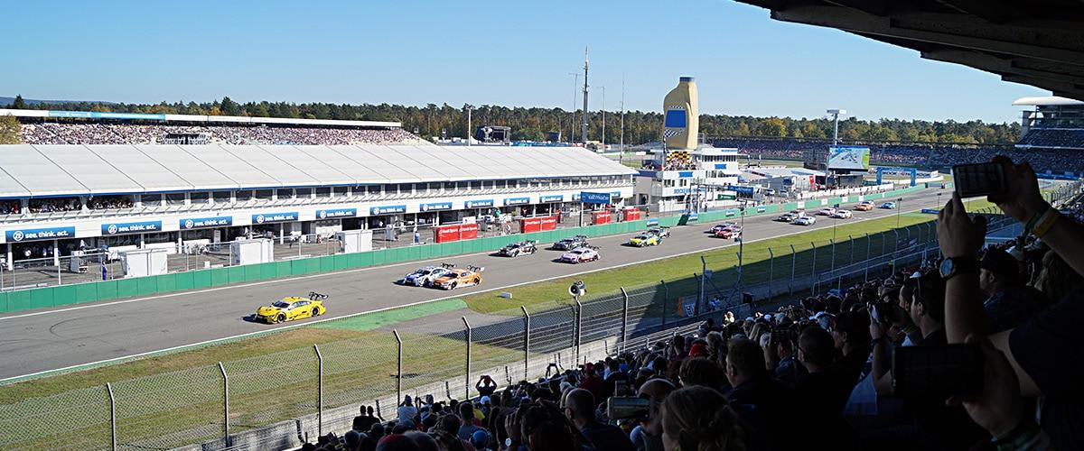 Track and Safety Days Tribüne Rennen