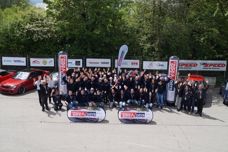 Teilnehmer der Track and Safety Days Augsburg