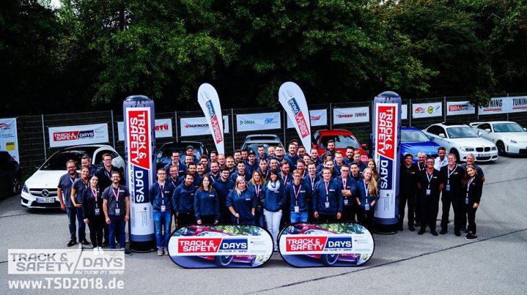 Teilnehmer der Track and Safety Days Augsburg 2018