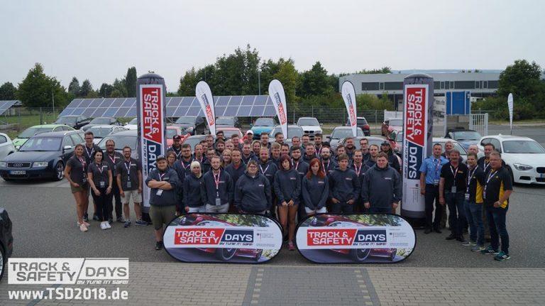 Teilnehmer der Track and Safety Days Erfurt