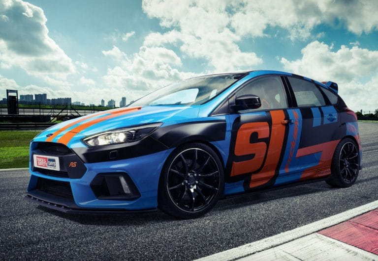 track and safety days ford focus wandkalender