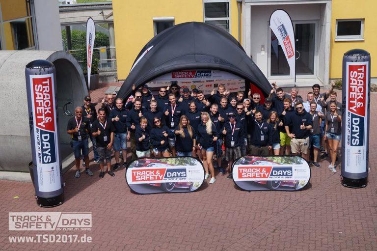 Teilnehmer der Track and Safety Days Gruendau