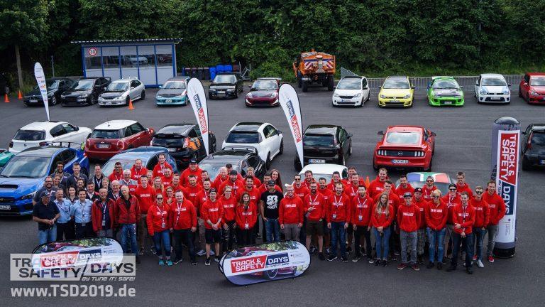 Teilnehmer der Track and Safety Days Grevenbroich