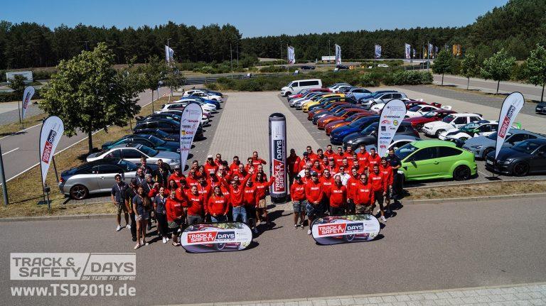 Teilnehmer der Track and Safety Days Linthe