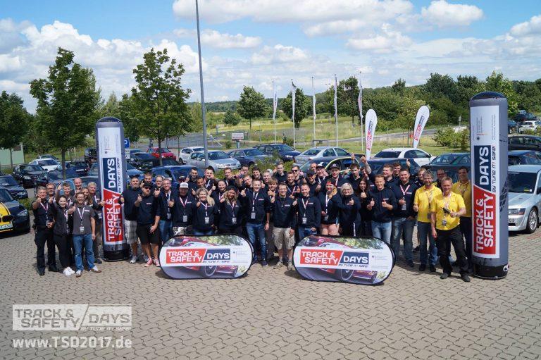Teilnehmer der Track and Safety Days Hannover