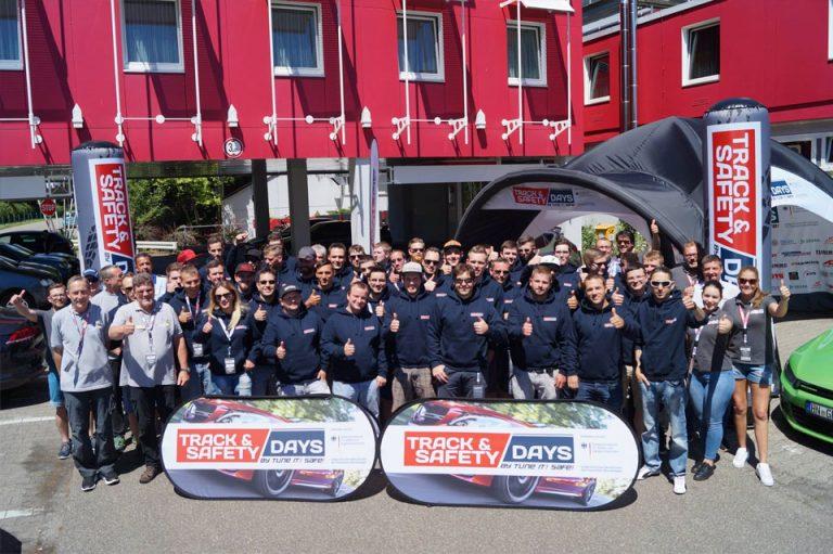 Teilnehmer der Track and Safety Days Hockenheim