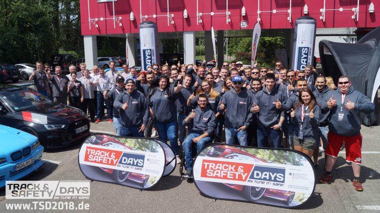 Teilnehmer der Track and Safety Days Hockenheim 2018