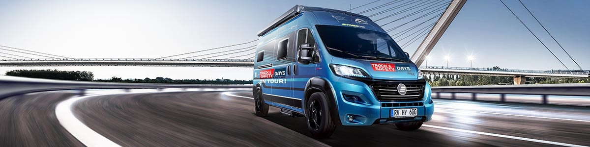 Hymer Mobil Track and Safety Days