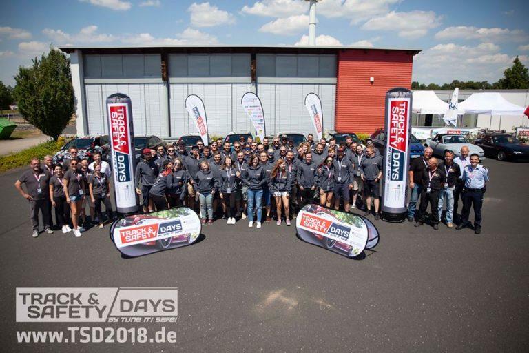 Teilnehmer der Track and Safety Days Köln 2018