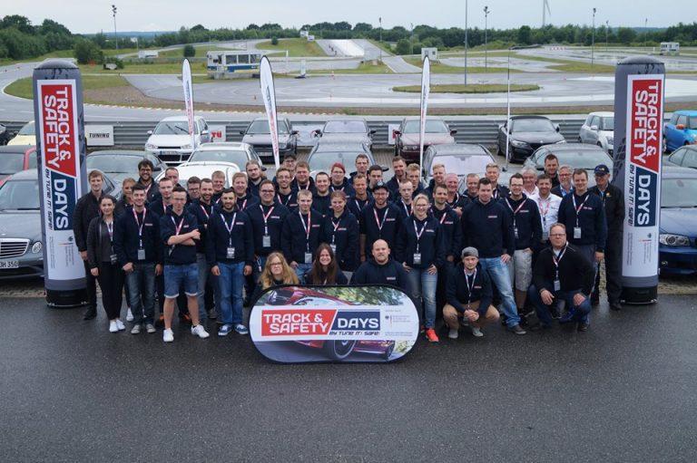 Teilnehmer der Track and Safety Days Lueneburg