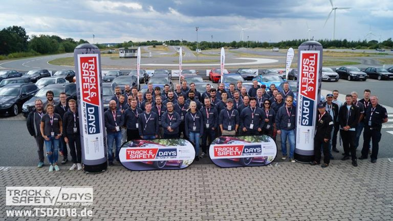 Teilnehmer der Track and Safety Days Lueneburg 2018