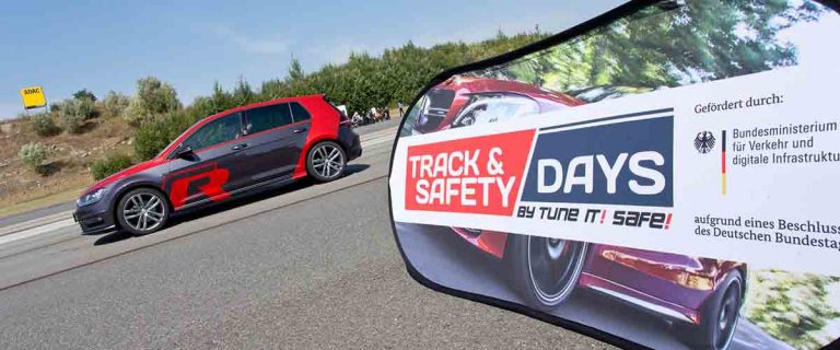 VW Golf R bei den Track and Safety Days