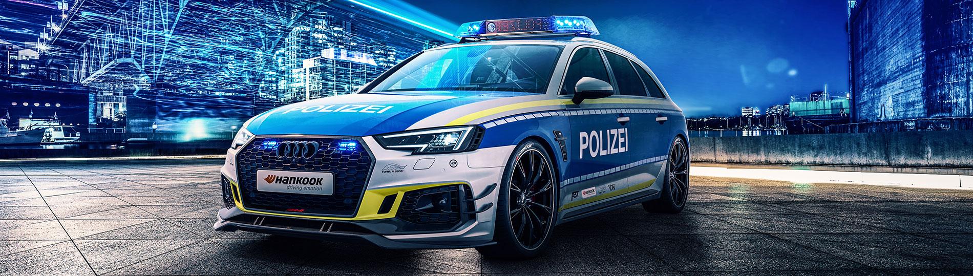 Tune It Safe ABT Audi mit Polizei Optik Tuning