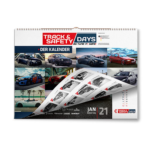 track and safety days kalender 2021